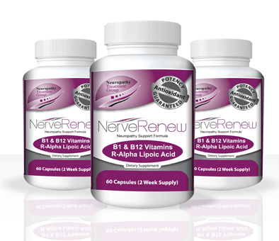 3 bottles of The Neuropathy Support Formula