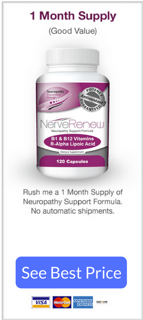 Neuropathy Support Formula is a supplement with few side effects or complaints for nerve pain caused by neuropathy.