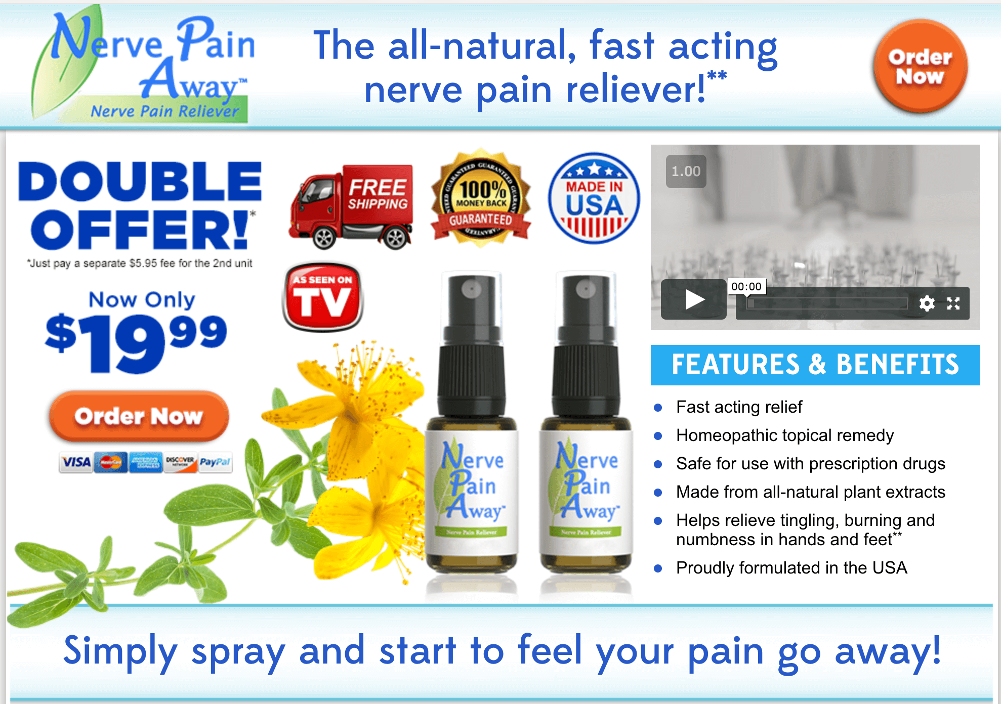 Nerve Pain Away Reviews: This As Seen On TV Neuropathy Relief Spray Is  Getting Attention, But Does It Live Up To The Hype?