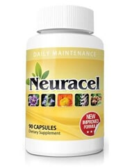 Neuracel 90 capsule bottle